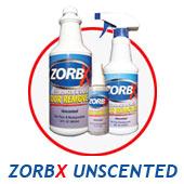 ZORBX Unscented Odor Remover zorbx